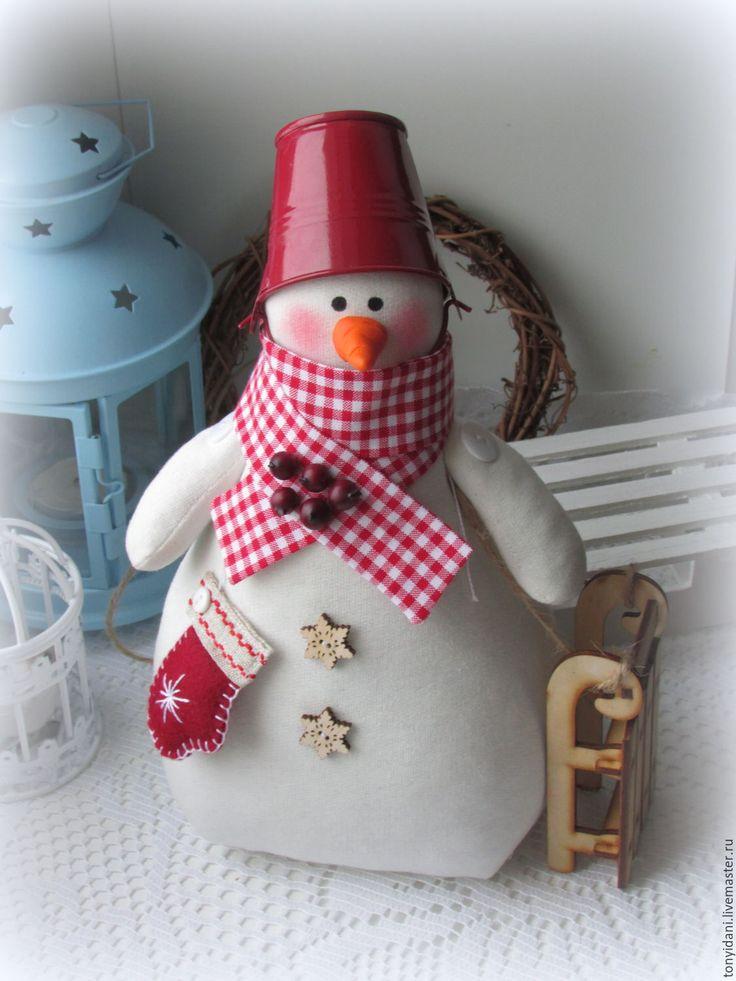 Купить Снеговик Потеряшка - снеговик, снеговичок, снеговики, снеговик ручной работы, снеговик игрушка