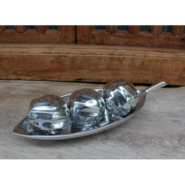 Silver Leaf Dish - Silver Homewares Online