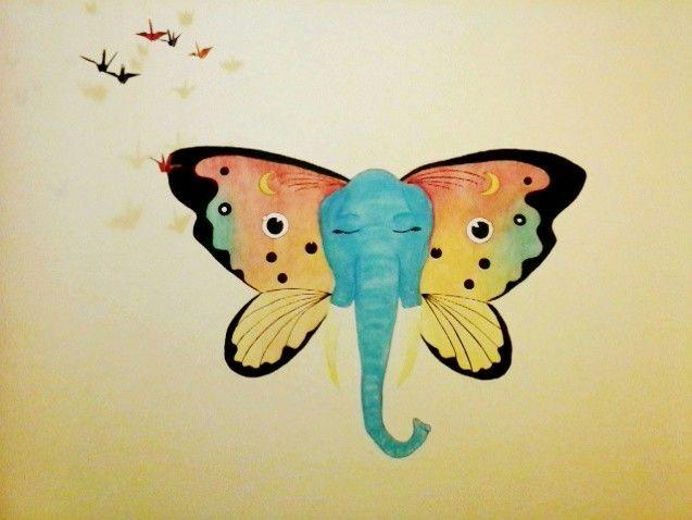 Elefante-borboleta | Borboleta-elefante