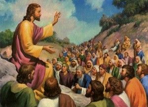 Recorría Jesús todas las ciudades y aldeas, enseñando en las sinagogas de ellos, y predicando el evangelio del reino, y sanando toda enfermedad y toda dolencia en el pueblo. Y al ver las multitudes, tuvo compasión de ellas; porque estaban desamparadas...