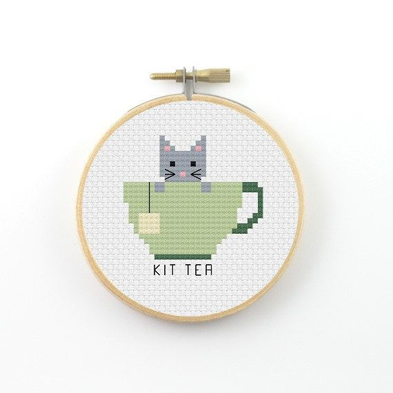 Hey, I found this really awesome Etsy listing at https://www.etsy.com/ca/listing/490491561/kit-tea-cross-stitch-pattern-tea-pattern