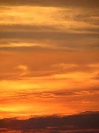 sunset sky yellow clouds photograph photography image michael freeman