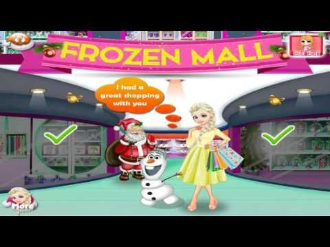 Frozen Online Game Elsa And Olaf Holiday Shopping Frozen En Español