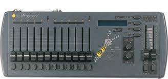 LightProcessor ZIP12 - 12 Channel multifunction lighting desk /PSU