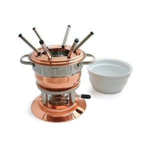 Swissmar Lausanne 11 PC Copper fondue set: Amazon.co.uk: Kitchen & Home