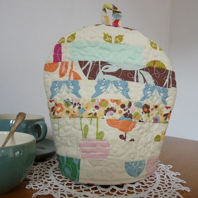 Quirky Quilted Patchwork Tea Cosy