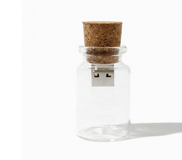 USB Message In A Bottle-Coolest USB Accessories