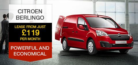 Citroen Berlingo Enterprise Finance Lease £119pm