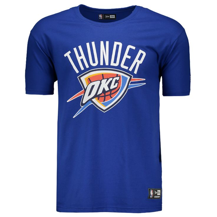 Camiseta New Era NBA Oklahoma City Thunder Somente na FutFanatics você compra agora Camiseta New Era NBA Oklahoma City Thunder por apenas R$ 89.90. Basquete. Por apenas 89.90