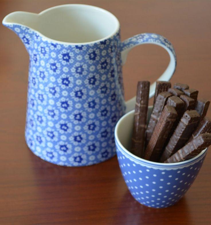 Kubek Latte Spot indogo H 9 cm - Dodomudo.pl