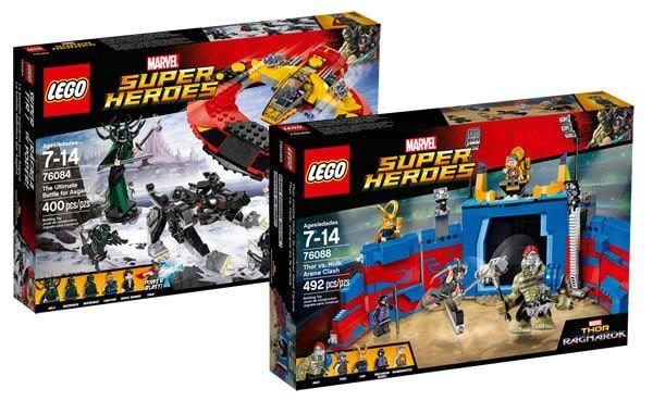 Nouveautés LEGO Thor Ragnarok : les visuels officiels sont disponibles: Même si la plupart des fans ont déjà pu découvrir le contenu… #LEGO