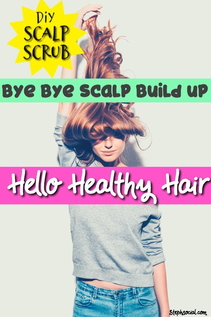 Got Scalp Build Up Try This Scalp Exfoliation Diy And Scalp Brush