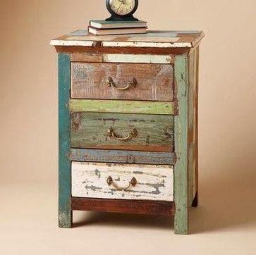 Salt Marsh Cottage: Sundance Paintbox Side Table Tutorial