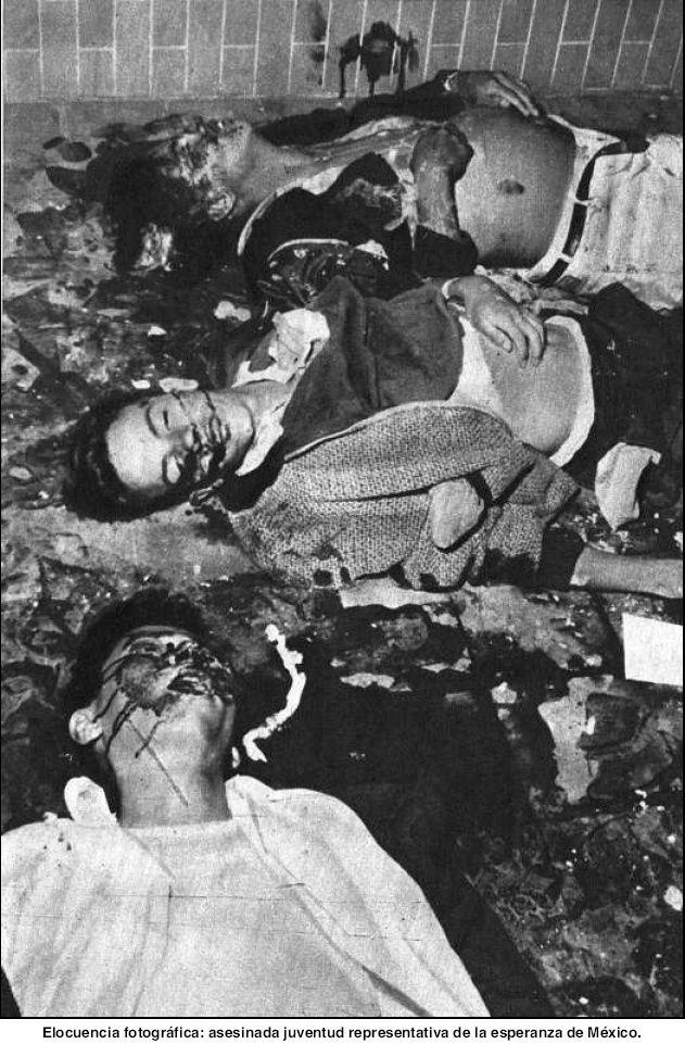 foto 12 masacre de Tlatelolco 68