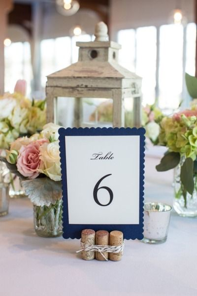 Nautical table decor: http://www.stylemepretty.com/massachusetts-weddings/cape-cod/2015/01/09/nautical-inspired-cape-cod-wedding/ | Photography: Angela Greenlaw - http://www.greenlawphoto.com/