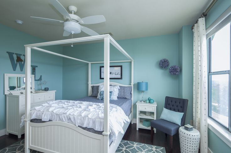 Sherwin williams hazel paint colors pinterest for Aquamarine bedroom ideas