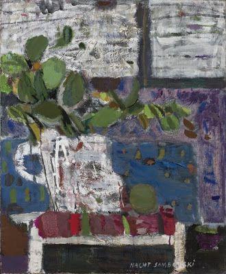 Nacht Samborski - Liście na fioletowej ścianie, 1966; kapiści