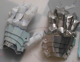 Armor Tutorial (great tips & ideas for making lightweight cosplay armor, and some links to sites that provide armor patterns.)