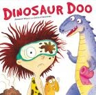 Dinosaur Doo by Andrew Weale. When Spark's village is bombarded with dinosaur poo he sets out on a mission to stop the naughty dinosaurs. But how By building a dinosaur loo, of course!     An hilarious book with a winning combination of poo and dinosaurs! This book certainly has the yuck factor appeal!   With all the favourite dinosaurs, including an iguanodon, triceratops, brachiosaurus, and pterodactyls.