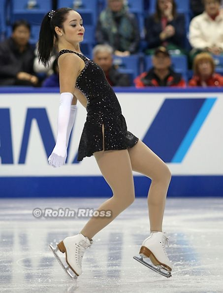 Kaetlyn Osmond (CAN) 2013 Skate Canada #FigureSkating