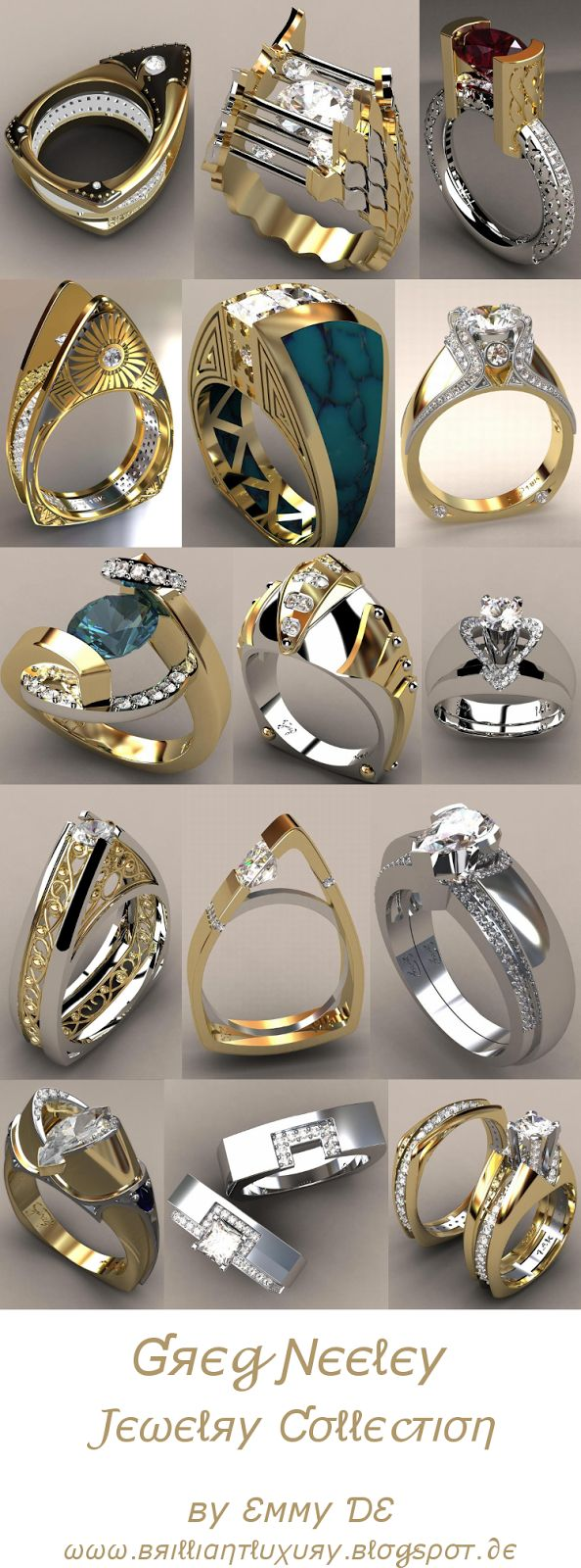 Brilliant Luxury by Emmy DE * Greg Neeley Jewelry Collection 2015