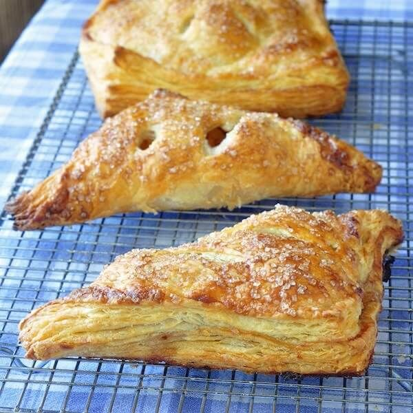 Apple Cinnamon Turnovers In Sour Cream Pastry Recipe Puff Pastry Recipes Pastry Recipes Dessert Recipes