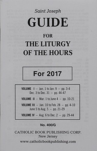 2017 Guide for the Liturgy of the Hours