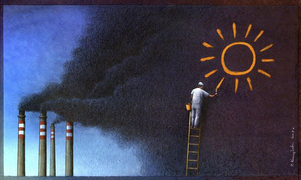 Drawing On World Issues Illustrations By Pawel Kuczynski