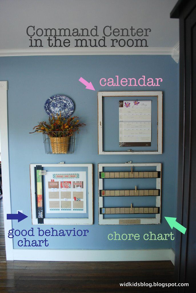 Mom's Command Center - Creative ways to use ideas to keep your family on track.