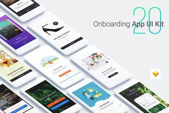 Walkthrough - Onboarding App UI Kit  @creativework247