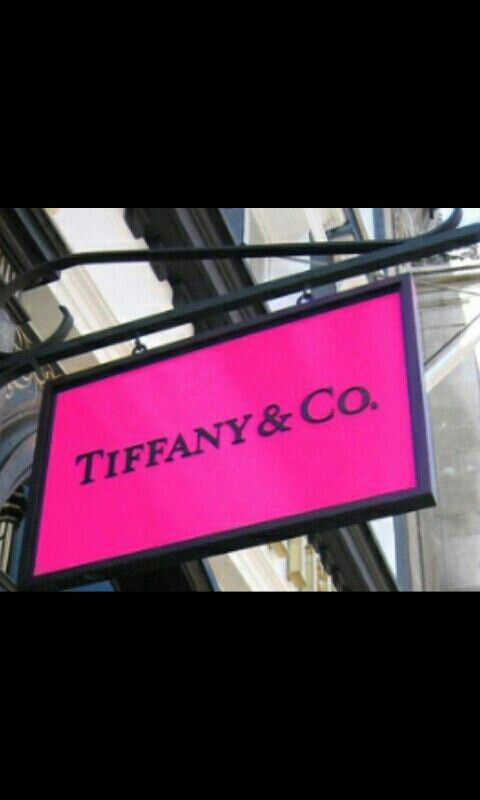 Tiffany store .♥.located at city