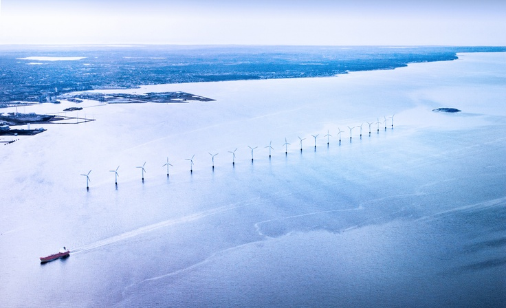 Copenhagen Windmills, Denmark