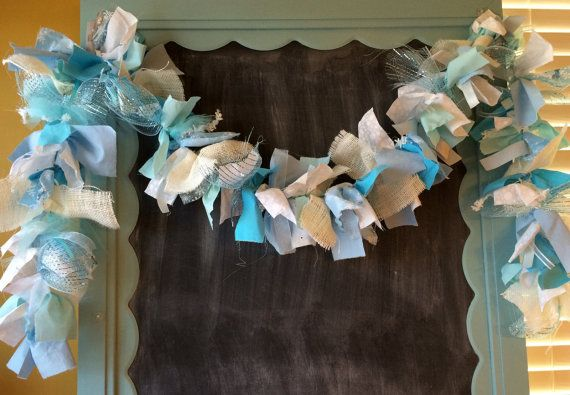 Frozen Decorations, Frozen Inspired Fabric Garland, 6 foot Banner for Frozen Room or Party Decor, Handmade, Frozen Themed Decoration on Etsy, $29.50