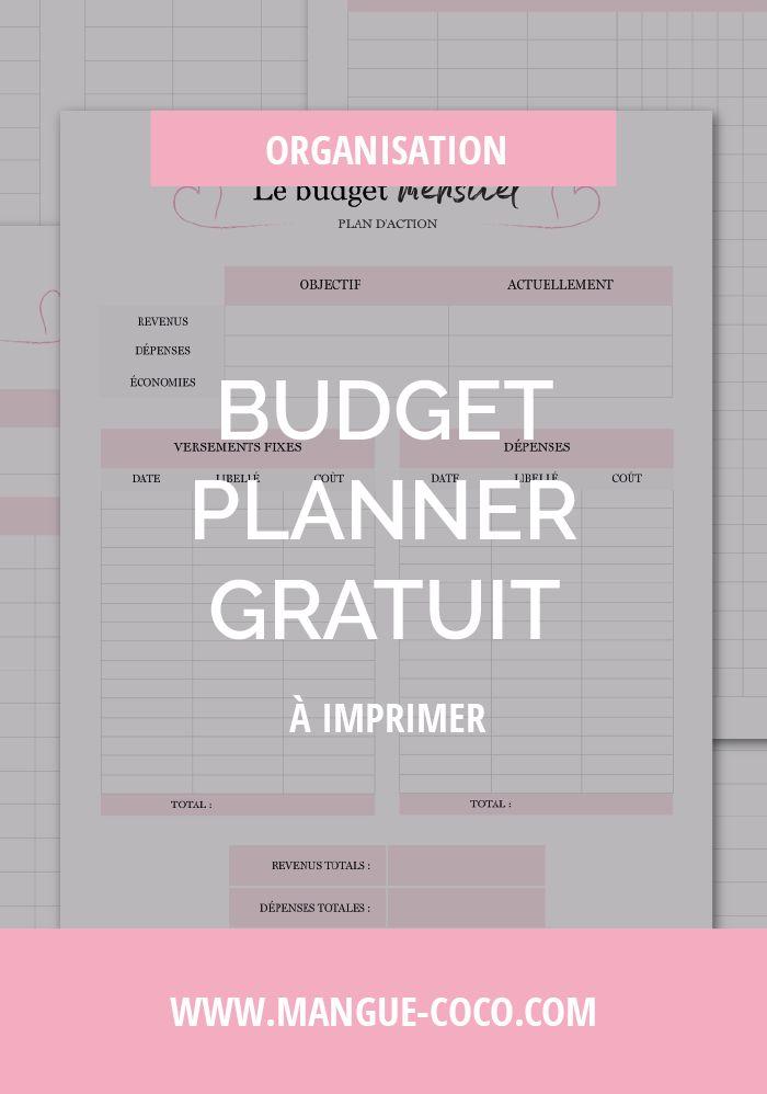 Que celles et ceux qui sont des paniers percés lèvent la main ! Voici un budget planner pour avoir un meilleur visu de vos finances et gérer au mieux vos dettes, crédits, entrées et sorties d'argent ! A télécharger gratuitement sur le blog !
