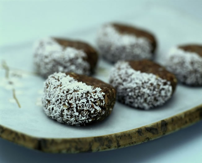 Chocolate Protein Power Balls recipe by Teresa Cutter