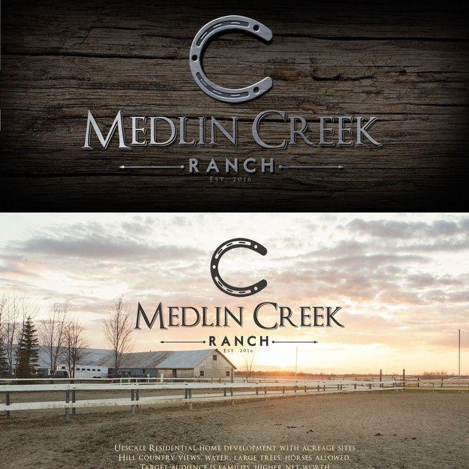 "Medlin Creek Ranch logo by Virtuoso"""