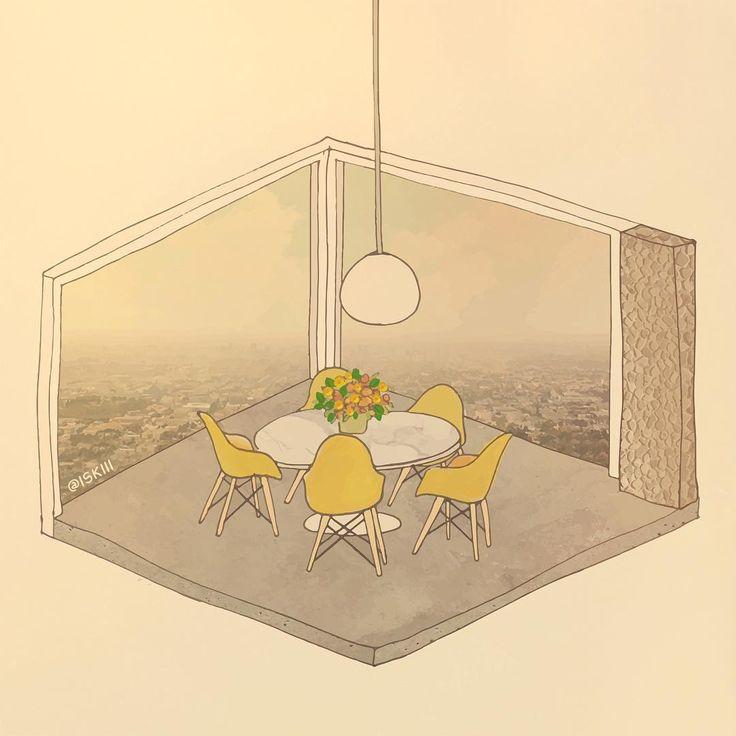 dine in Stahl 🌼 ❑ art by https://www.instagram.com/iskiii/