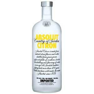 Absolute Citron Vodka