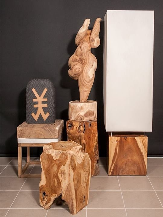 Yahbe Abstract Handicrafts - Wood  Find more at www.decord.gr #serenity #harmony #Buddha #spiritual #objects #Bali #energy