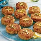 Catfish Cakes.  If you're craving crabcakes but don't want to pay for them, then make these!  They are so simple and sooo good!  I would bake the fish for 10 mins. instead of boiling them like the recipe says.