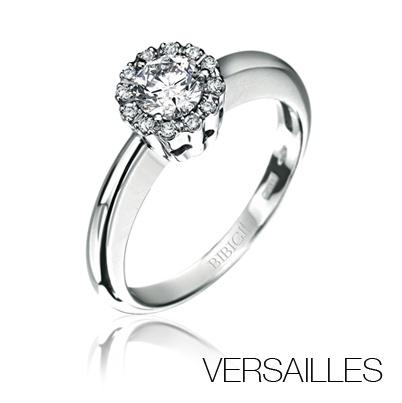 #Bibigi | Anello in oro bianco e diamanti.
