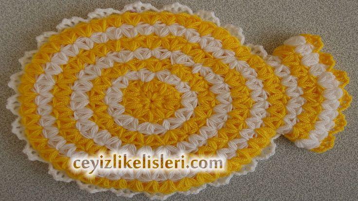 Tığ İşi Banyo Lif Modelleri - Crochet Patterns Bath Vida