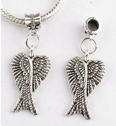 Angel Wings European Charm Memorial Remembrance