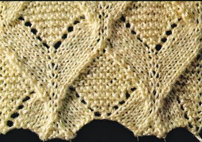 Art & Craft Times: Vzor na pletenie PV_001