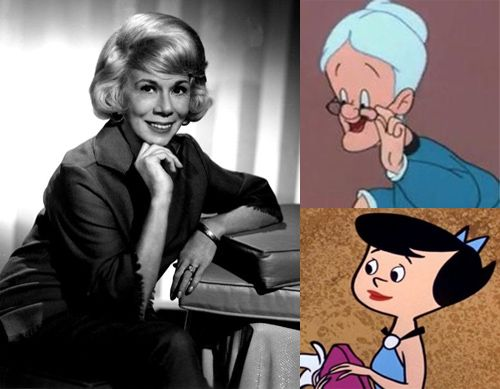 Bea Benaderet 'voiced' Looney Tunes 'Granny' (until June Foray) and The Flintstones' Betty Rubble…