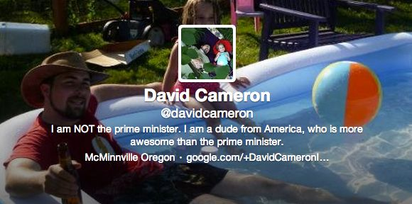 People Have Been Venting Their Frustrations At The Wrong David Cameron On Twitter - http://www.gigglefinger.com/people-have-been-venting-their-frustrations-at-the-wrong-david-cameron-on-twitter/