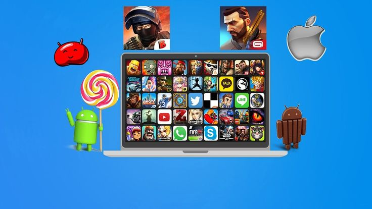 How to PLAY MOBILE GAMES ON PC!!