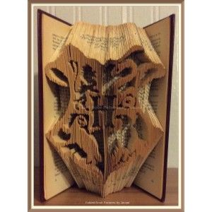 They killed a perfectly good book. Poor pages. Luckily I LOVE harry potter