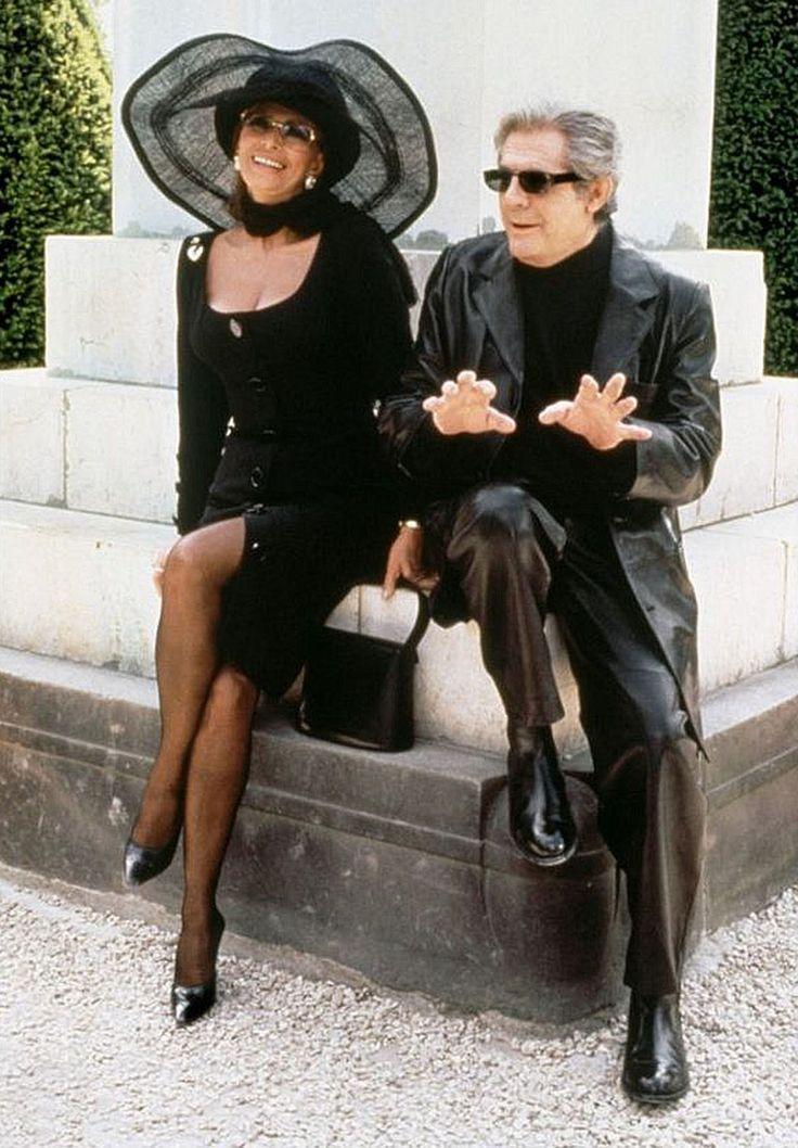 "Sophia Loren y Marcello Mastroianni en ""Pret-a-porter"", 1994"