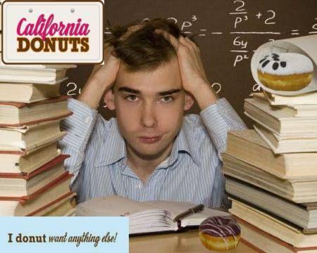 Πήζεις διαβάζοντας; Κάνε break με ένα φρέσκο και λαχταριστό California Donut!! Σου γλυκαίνει τη μέρα!